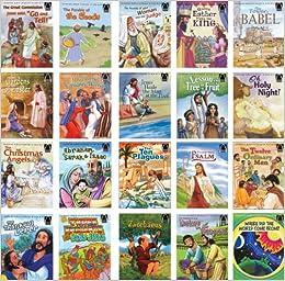 The Bible Story Book Set 1 - 10 Arthur S Maxwell 1974 - 1976 EUC
