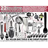 Bartender's Kit: Pro-Bartender 22 Piece Bar Set