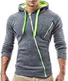 BALANDI Herren Sweatjacke Jacke Hoodie Hoody Pullover T-Shirt Kapuzenpullover Bild