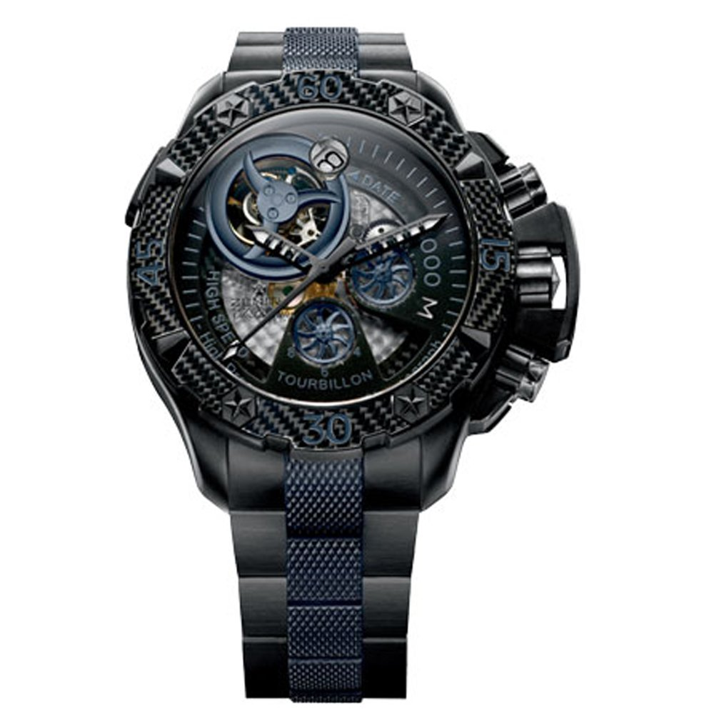 Zenith Tourbillon Titanium Chronograph Watch