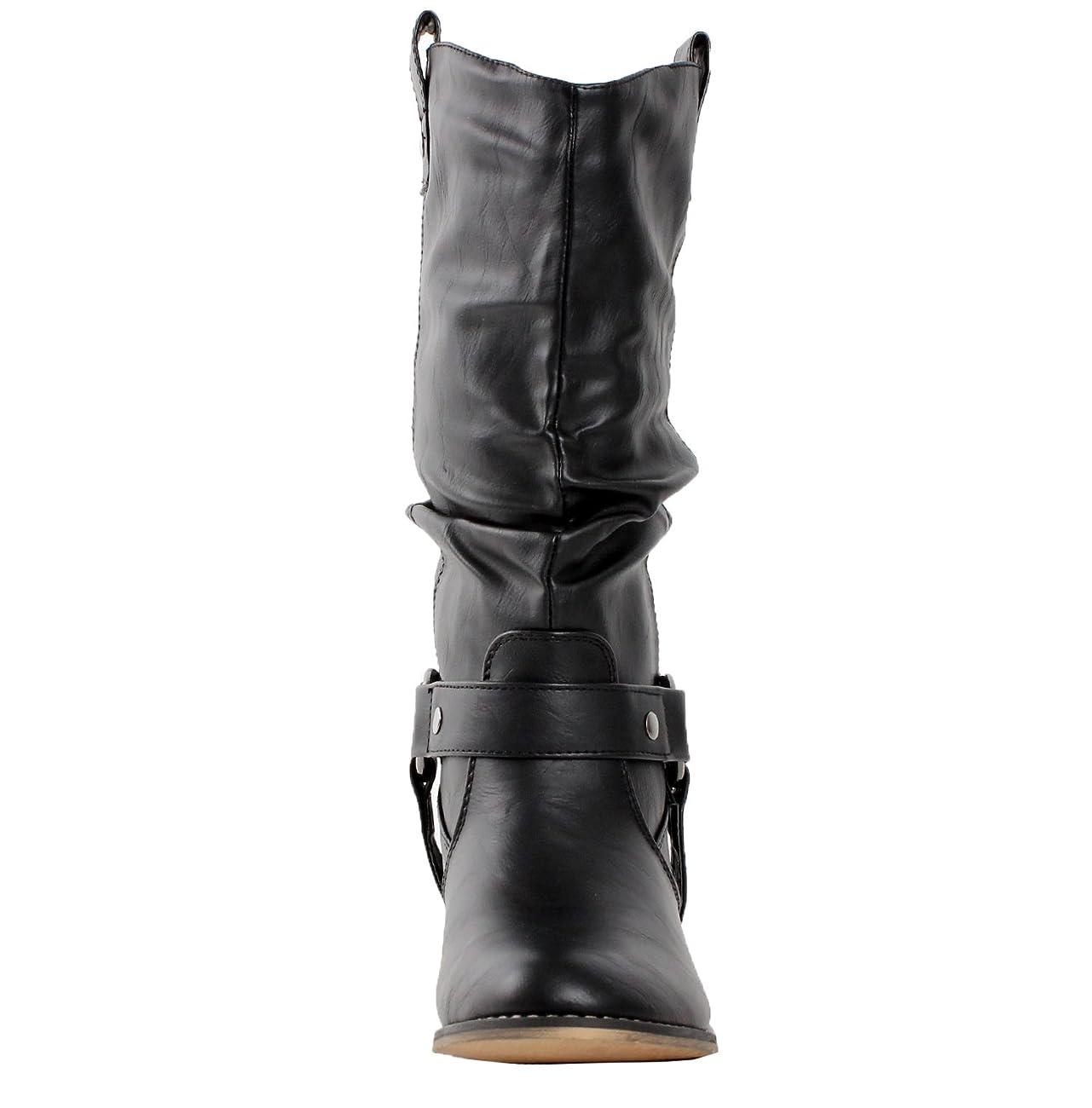 Refresh Women Wild-02 Western Style Cowboy Boots 2