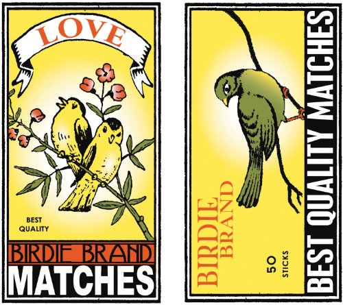 HomArt Large Decorative Birdie Brand Matches