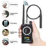 RF Detectors Bug Detector Anti-spy Hidden Camera GSM Audio Bug Sweeper Finder RF Signal Radio Scanner GPS Tracker Detect Wireless Products EU Plug By CHHLIUT (Color: RF detectors bug detector, Tamaño: 6.5 * 3.9 * 1.4 inch)