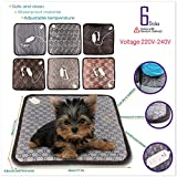 "17.7""x17.7"" Cute Pet Dog Cat Electric Heating Pad Blanket"