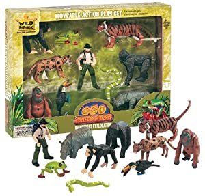 go wild cards bi lo animals in the rainforest