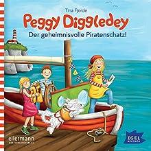 Der geheimnisvolle Piratenschatz (Peggy Diggledey) Hörbuch von Tina Fjorde Gesprochen von: Marie Bierstedt