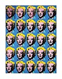 Twenty-Five Colored Marilyns, 1962 - Pop Art Poster by Andy Warhol (11 x 14)