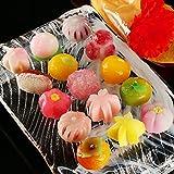 母の日 ギフト 季節の生菓子詰め合わせ「佐保姫十五選」 カーネーションブーケ付き