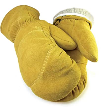 Deerskin Leather Mittens