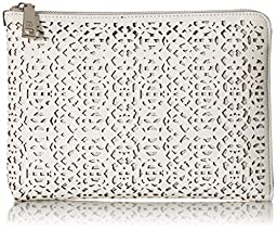 Ivanka Trump Rio Tech Sleeve With Battery Clutch, White, One Size