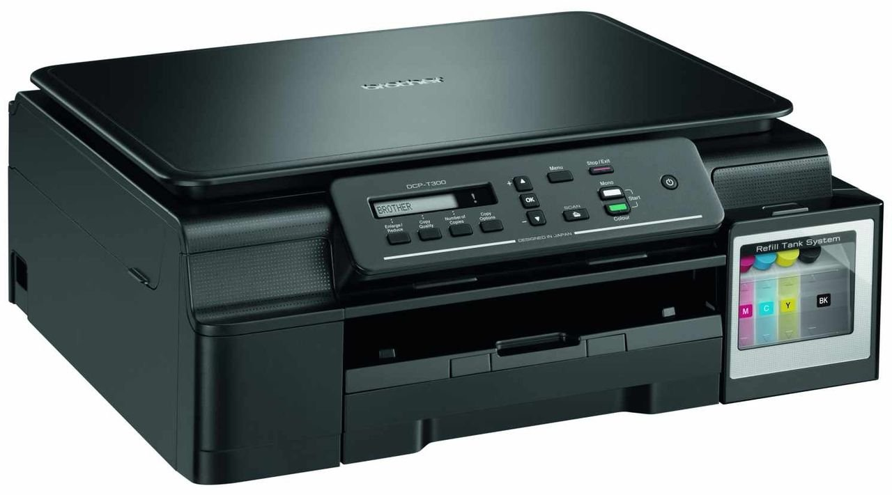 Color printouts in hyderabad - Brother Dcp T300 Multifunction Colour Ink Tank Printer Amazon In Computers Accessories