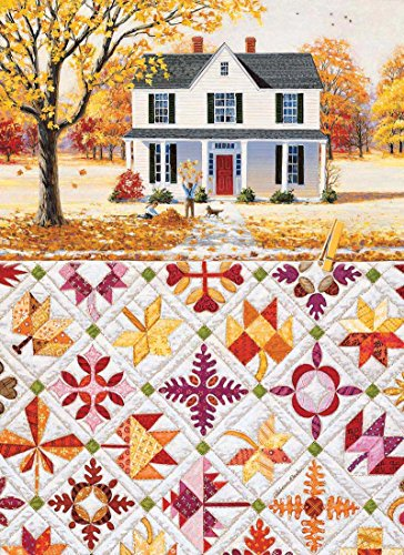 Autumn Leaves a 500-Piece Jigsaw Puzzle by Sunsout Inc.
