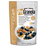 ProGranola 12g Protein Cereal : (Espresso/Coffee) (Paleo : 3 Net Carbs : Gluten Free : Grain Free) (15 Servings)