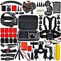 Leknes Basis Zubehör Bundle Set für Action Kamera sj4000 sj5000 und GOPRO HERO 4 3+ 3 2 1