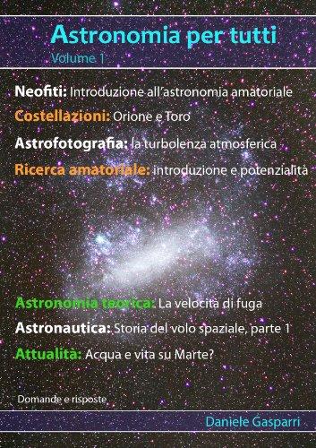 Astronomia per tutti volume 1 PDF