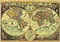 Schmidt Spiele 57086 - Historische Weltkarte, 1000 Teile Puzzle
