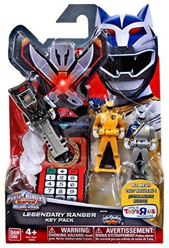 Power Rangers Super Megaforce - Wild Force Legendary Ranger Key Pack, Black/Yellow/Silver