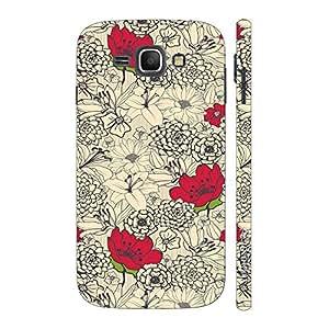 Enthopia Designer Hardshell Case Flowers 12 Back Cover for Samsung Galaxy J1 (2016)