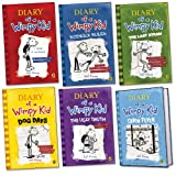Jeff Kinney Diary of a Wimpy Kid Pack, 5 paperbacks, 1 hardback, RRP £47.94 (The Last Straw; Diary Of A Wimpy Kid; Rodrick Rules; Dog Days; The Ugly Truth; Cabin Fever).