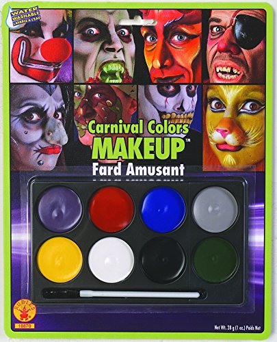 Rubie's Costume Co Carnival Color Makeup Costume