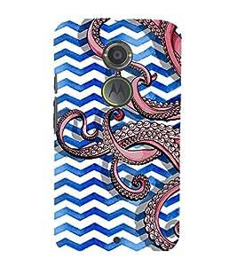 multicoloured traditional pattern 3D Hard Polycarbonate Designer Back Case Cover for Motorola Moto X2 :: Motorola Moto X (2nd Gen)