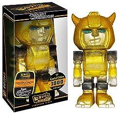 Funko Hikari: Transformers - Bumblebee Clear Glitter Figure