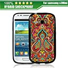 Boxlegend Hard Phone Case for Samsung Galaxy S 3 Mini I8190 Shock Dust Proof with Black Borders
