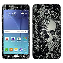 Theskinmantra Skulled Texture SKIN for Samsung Galaxy J7