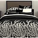 City Scene Branches Collection Black Comforter Set Fullqueen