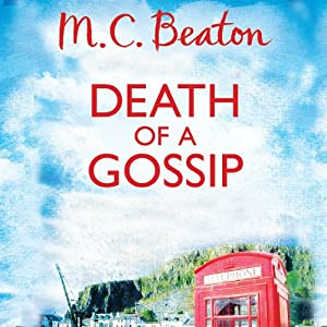 Death of a Gossip Audiobook