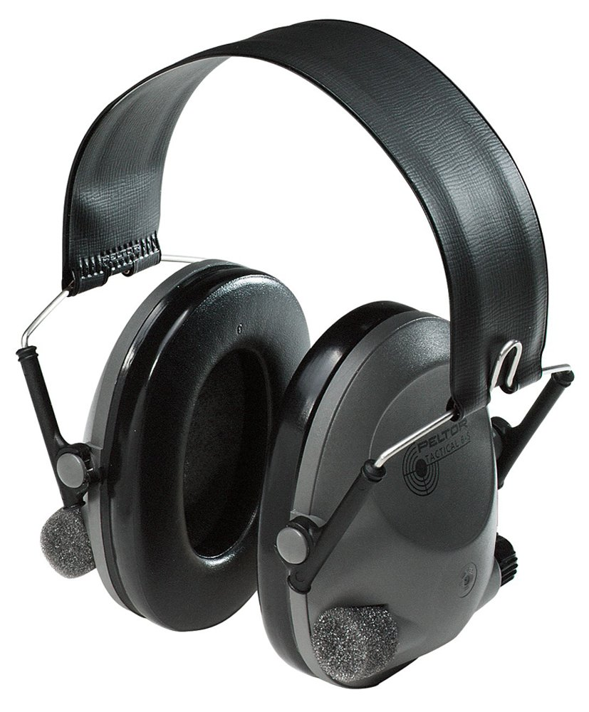 Best Earmuffs for the Firing Range 3M Peltor Tactical 6S Active Volume Hearing Protector