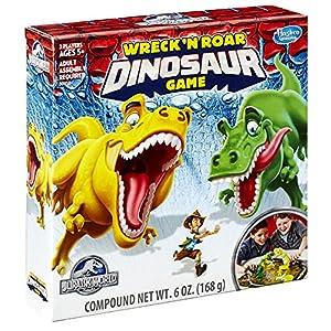 Jurassic World Wreck 'N Roar Dinosaur Game