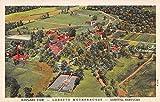 Loretto Kentucky Loretto Motherhouse Airplane View Antique Postcard J36436