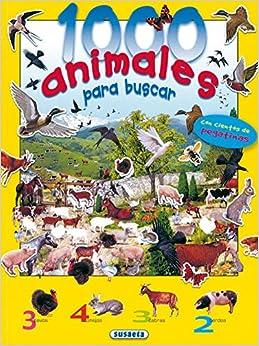 1000 Animales para buscar con pegatinas n.4: Francisco Arredondo