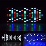 Value-Home-Tools - LED DIY Touch Digital Music Spectrum Display Kit Module Big Size 225 Segment LED Equalizer Music Spectrum Sound Waves Kit