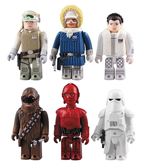 Star Wars Kubrick DX Serie 2 AT-ST Walker (Lot de 6 figurines)