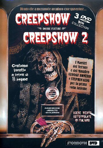Creepshow 1 & 2 (3 DVD box collect.)