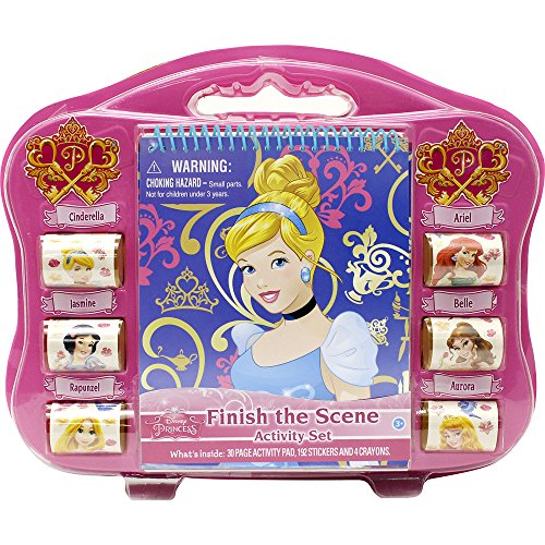 Tara Toy Cinderella Finish The Sticker Scene Playset - 1