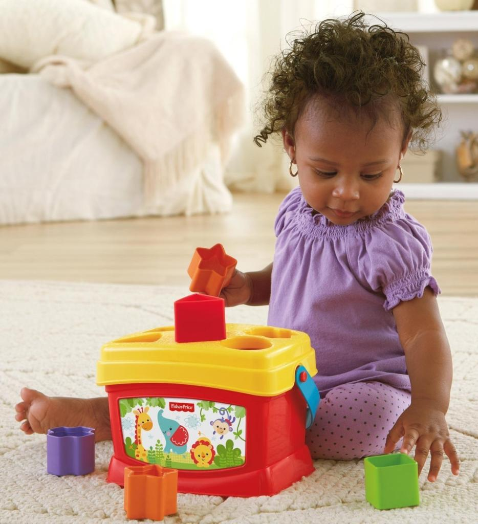 Amazon Com Fisher Price Brilliant Basics Baby S First Blocks Toys Amp Games