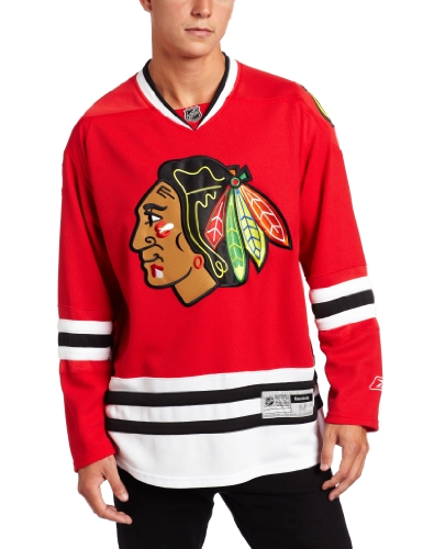 NHL Chicago Blackhawks Premier Jersey, Red, Small