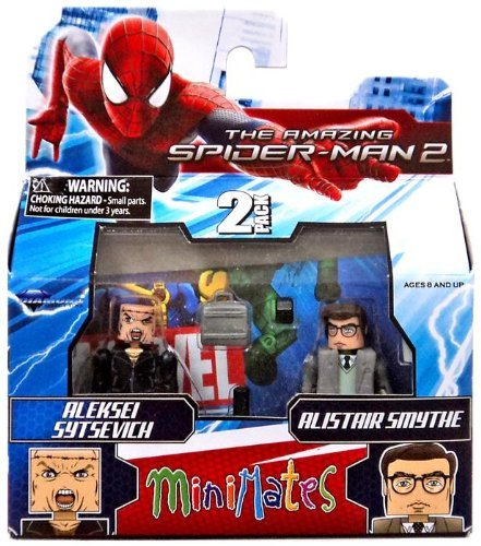 Marvel Minimates Series 56 Mini-Figure Alistair Smythe with Aleksei Sytsevich