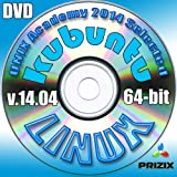 Kubuntu 14.04 Linux DVD 64-bit Full Installation Includes Complimentary UNIX Academy Evaluation Exam