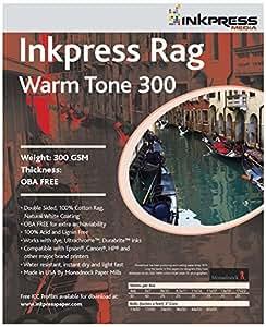 com : Trapo tono cálido 300gsm / 24mil 5x7 50 hojas : Office Products