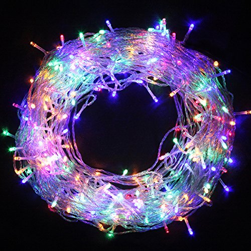 Cvlife 31V Safe 260 Leds 50M Multicolor String Fairy Lights Lighting 8 Modes For Christmas Tree Party Wedding Garden