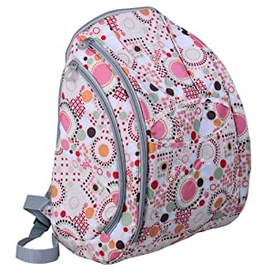 ecosusi diaper backpack pink diaper tote. Black Bedroom Furniture Sets. Home Design Ideas