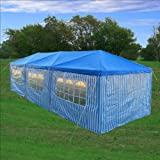 10' x 30' Wedding Tent BLUE - Party Gazebo Pavilion Catering Carport Shelter - By DELTA Canopies