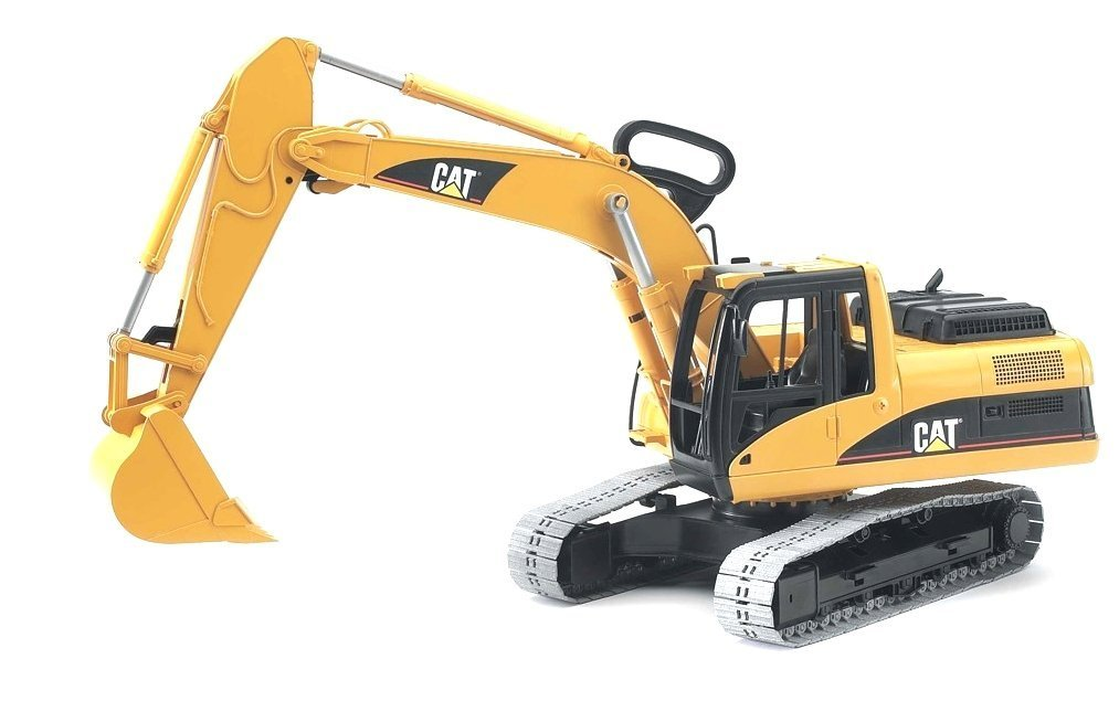 Cat Construction Toys For Toddlers : Bruder toys caterpillar excavator construction work