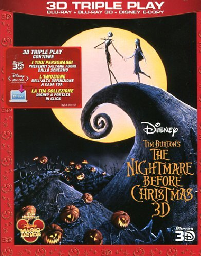 The nightmare before Christmas (2D+3D+e-copy)
