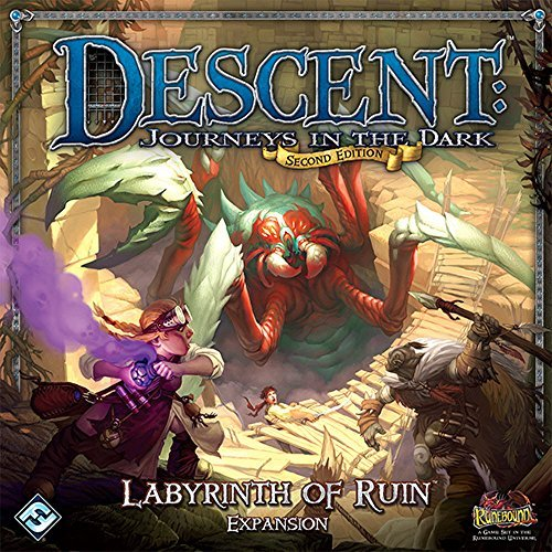 Descent Second Edition: Labyrinth of Ruin Expansion (Heroes Quest Dice compare prices)