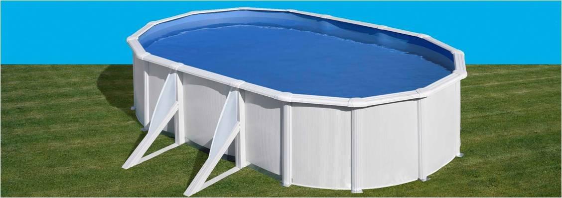 san marina pool fidji stahlwandpool 6.10 x 3.75 x 1.2m günstig